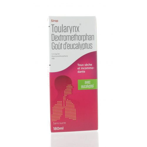TOULARYNX DEXTROMETHORPHAN EUCALYTPUS 180 ML