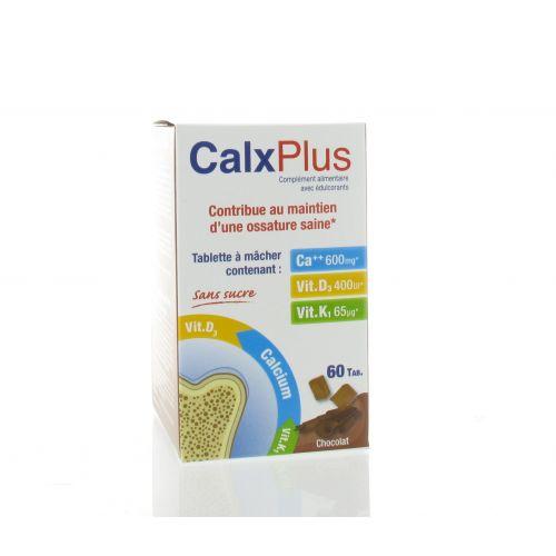 CALX PLUS CHOCOLAT 60 COMPRIMES