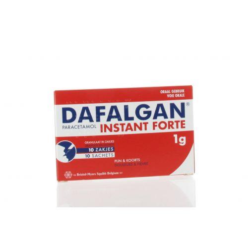 DAFALGAN INSTANT FORTE GRANULES SACHET 10 X 1 G