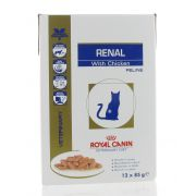 VET CAT RENAL CHICKEN 12 X  85 G