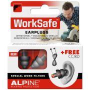 ALPINE WORK SAFE BOUCHON OREILLE AVEC FILTRE (1 PAIRE)