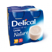 DELICAL BOISSON LACTEE HP-HC NATURE 4 X 200 ML