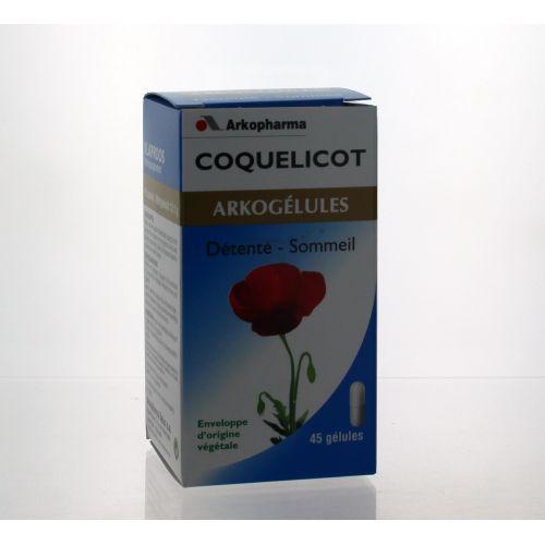ARKOGELULES COQUELICOT 45 GELULES