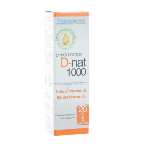 PHYSIOMANCE D NAT 1000 GOUTTES 20 ML