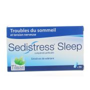 SEDISTRESS SLEEP COMPRIMES 56 X 500 MG