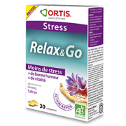 ORTIS RELAX AND GO BIO 30 COMPRIMES