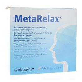 METAGENICS METARELAX 180 COMPRIMES