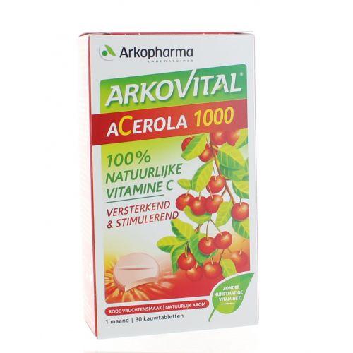 ACEROLA 1000 2 X 15 COMPRIMES