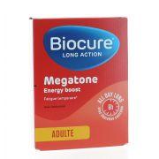 BIOCURE MEGATONE LONG ACTION ENERGY BOOST 30 COMPRIMES