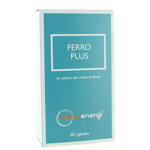 FERRO PLUS NATURAL ENERGY 30 CAPSULES
