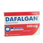 DAFALGAN COMPRIMES 20 X 500 MG