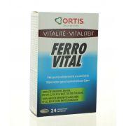 ORTIS FERRO VITAL PLUS-G N1 24 COMPRIMES