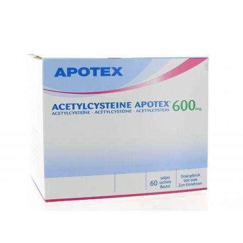 ACETYLCYSTEINE SACHETS 60 X 600 MG APOTEX