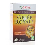 ORTIS GELEE ROYALE BIO 24 COMPRIMES A CROQUER