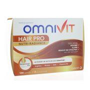 OMNIVIT HAIR PRO NUTRI RADIANCE 120 CAPSULES