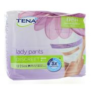 TENA LADY PANTS DISCREET MEDIUM (12)
