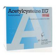 ACETYLCYSTEINE EG SACHETS 60 X 600 MG