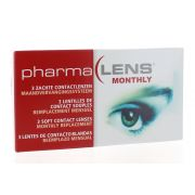 PHARMALENS MONTHLY DIOPTRIE -3,50 LENTILLES (3)