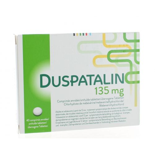 DUSPATALIN DRAGEES 40 X 135 MG