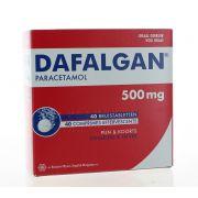DAFALGAN COMPRIMES EFFERVESCENTS 40 X 500 MG
