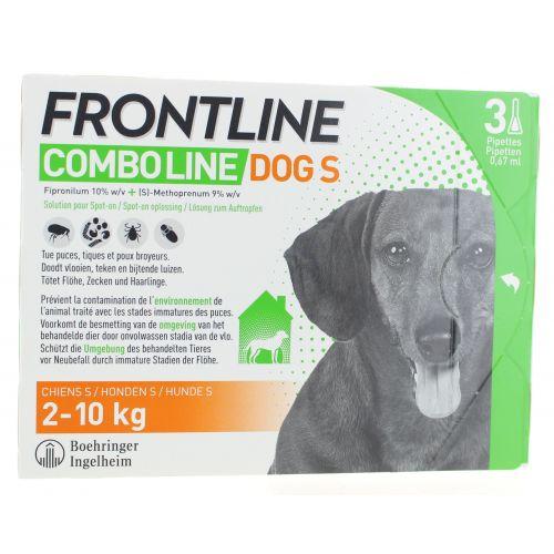 FRONTLINE COMBO LINE DOG S (3)