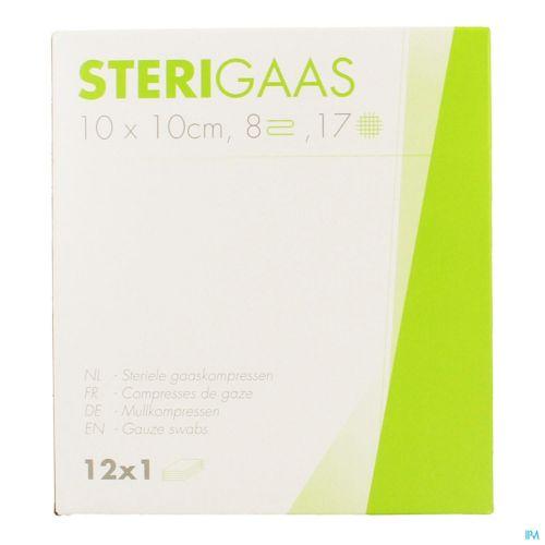 Sterigaas Cp Ster 8c 10,0x10,0cm 12x1