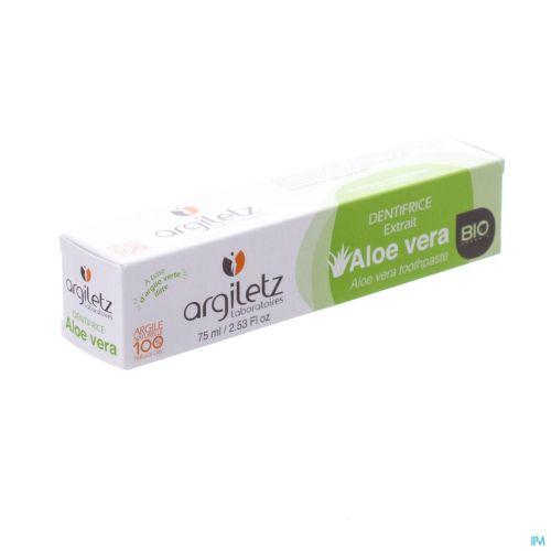 Argiletz Denfifrice Nature Aloe Vera Bio Tube 75ml