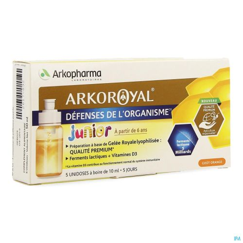 Arkoroyal Probiot. Enf Ruche Royale Doses 5x7,5ml