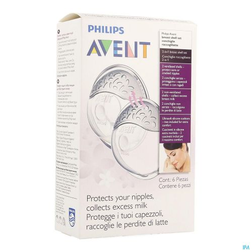 Philips Avent Isis Coquilles Confort 4 SCF157/02