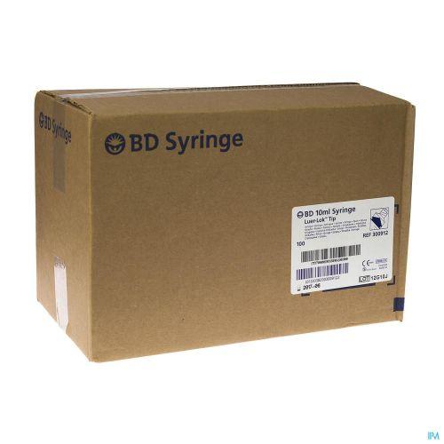 Bd Plastipak Seringue Luer-lok 10ml 100 300912