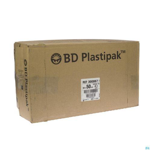 Bd Plastipak Seringue Catheter Tip 50ml 60 300867
