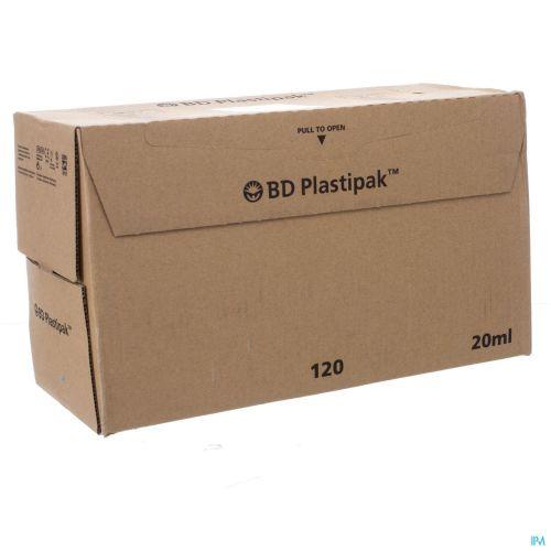 Bd Plastipak Ser. S/aig. Luer Lok 20ml 120 300629