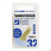 Tandex Toothpicks Wood 80