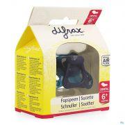 Difrax Sucette Silicone Dental Avec Anneau +6m 800