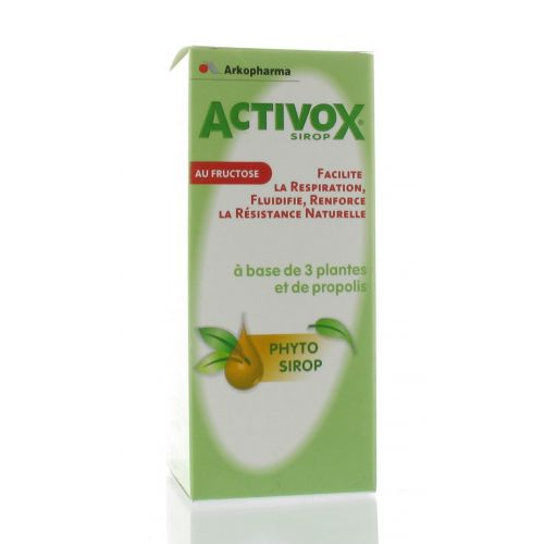 ACTIVOX SIROP AUX HERBES 150 ML