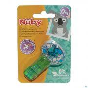 Nûby Attache-sucette Velcro Pacifinder®