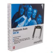 Microlife Pese Personne Diagnostic Ws80