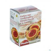 Prodia Biscuits Fourres Fraise 150g 5850