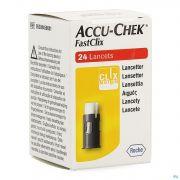 ACCU-CHEK MOBILE FASTCLIX LANCETTES (4 X 6)
