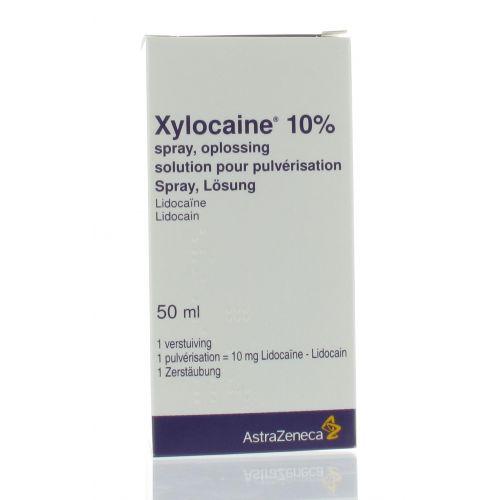 XYLOCAINE SPRAY 10% 50 ML