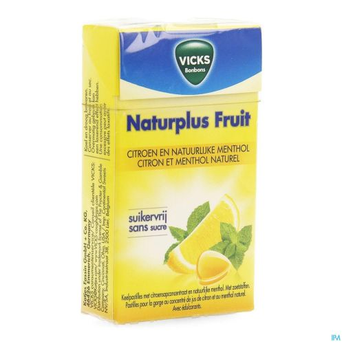 Vicks Lemon+c S/sucre 40g Box