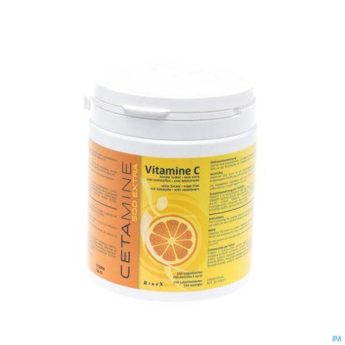 Cetamine 500 Extra S/sucre Comp A Sucer 250