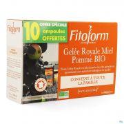 Gelee Royale Bio Miel-fructose Amp 20+10 Fitoform