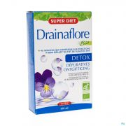Super Diet Drainaflore Bio Amp 20x15ml