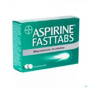 ASPIRINE FASTTABS 20 X 500 MG