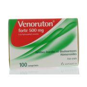 VENORUTON FORTE COMPRIMES 100 X 500 MG