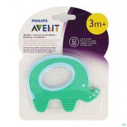 Philips Avent Anneau Dentitin Elephant SCF199/00