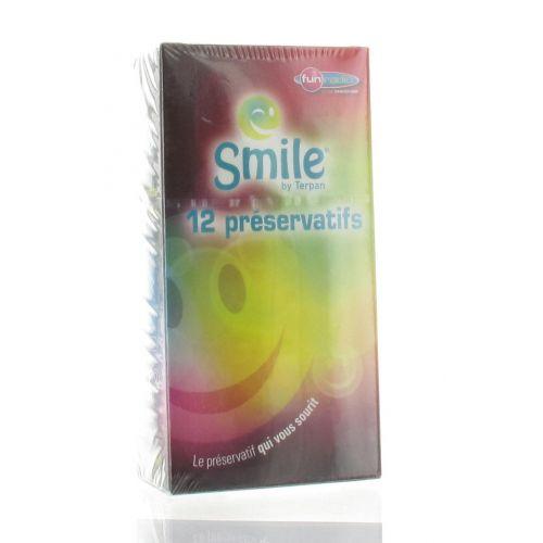 SMILE PRESERVATIFS 12
