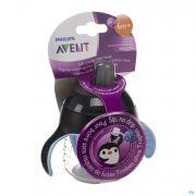 Philips Avent Gobelet Anti Fuite Pinguin Noir 200ml SCF751/03