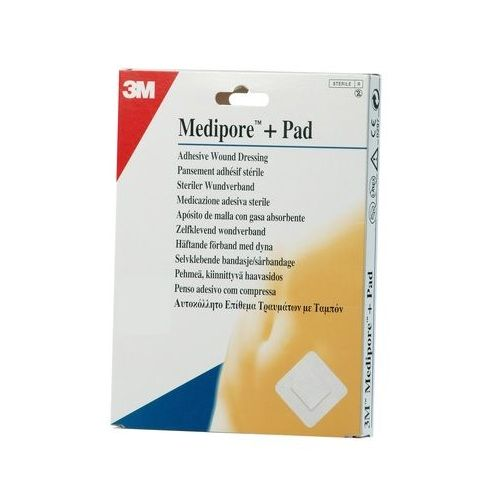 MEDIPORE + PAD 3M 5 X 7,2 CM (50)